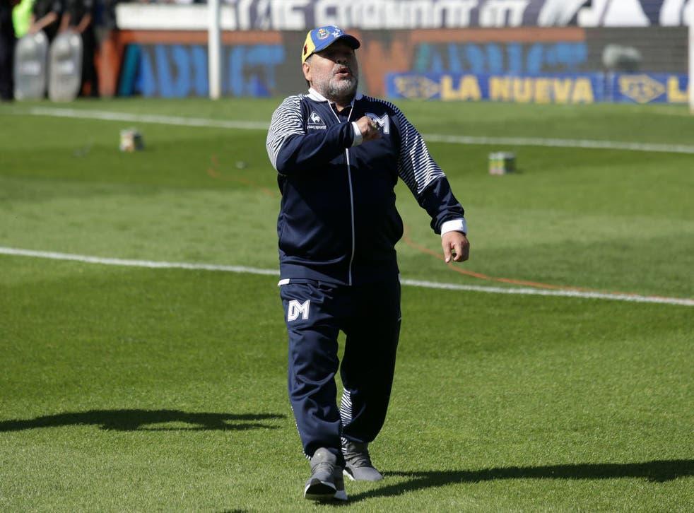 <p>Maradona fue hospitalizado el pasado 2 de noviembre por una desmejora física</p>