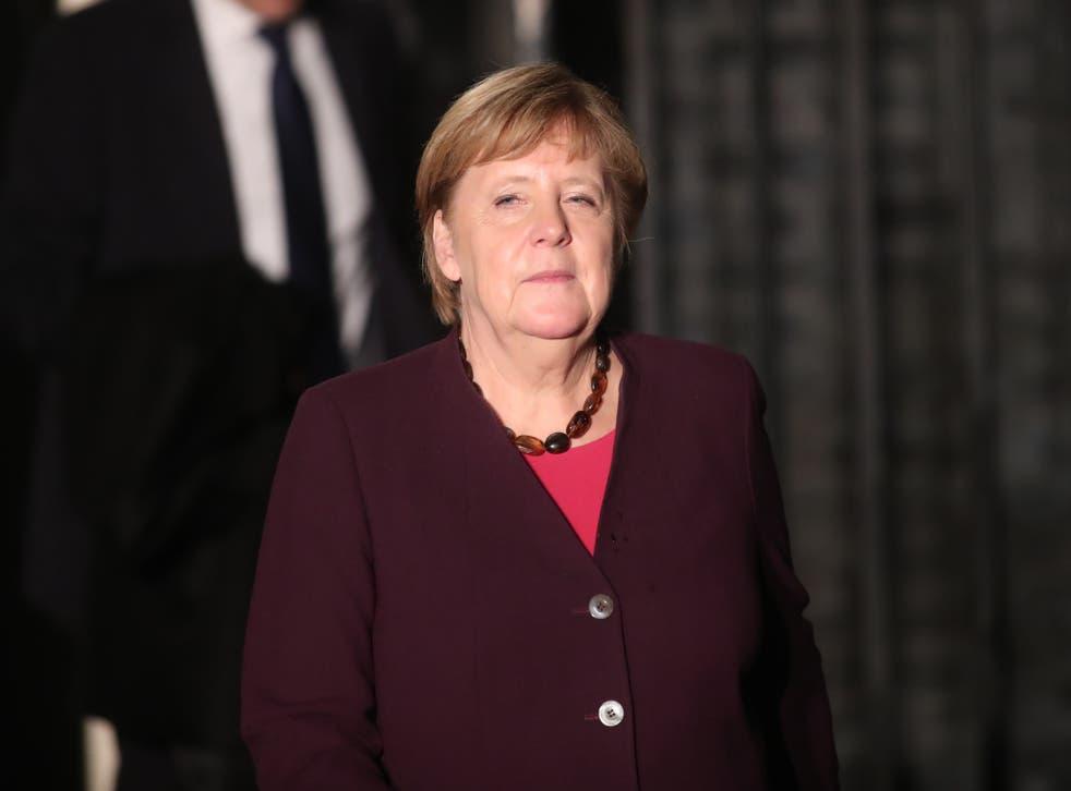 <p>Chancellor Angela Merkel</p>