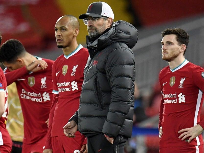 Jurgen Klopp has no regrets over Liverpool changes despite Champions League defeat by Atalanta