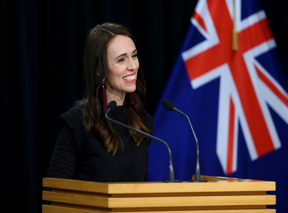 <p>File: New Zealand's Ardern recently declared a climate emergency</p>