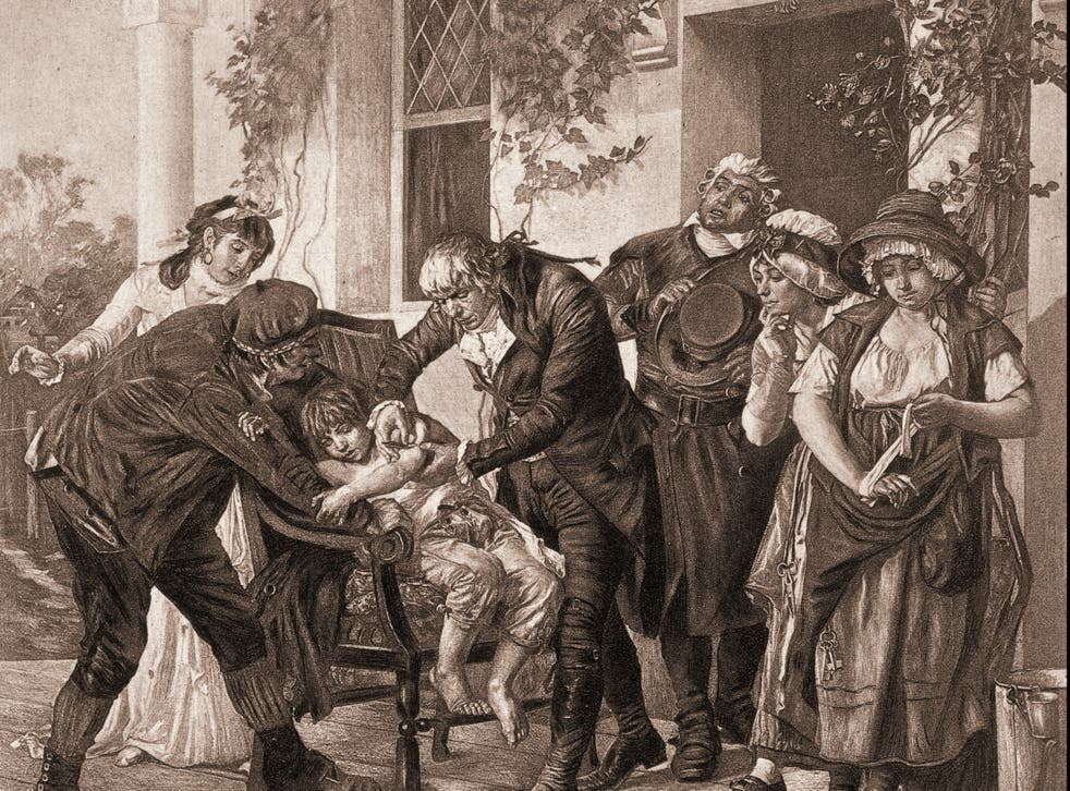<p>Ethics aside, people were reluctant to be injected with goo from a cowpox blister &nbsp;</p>