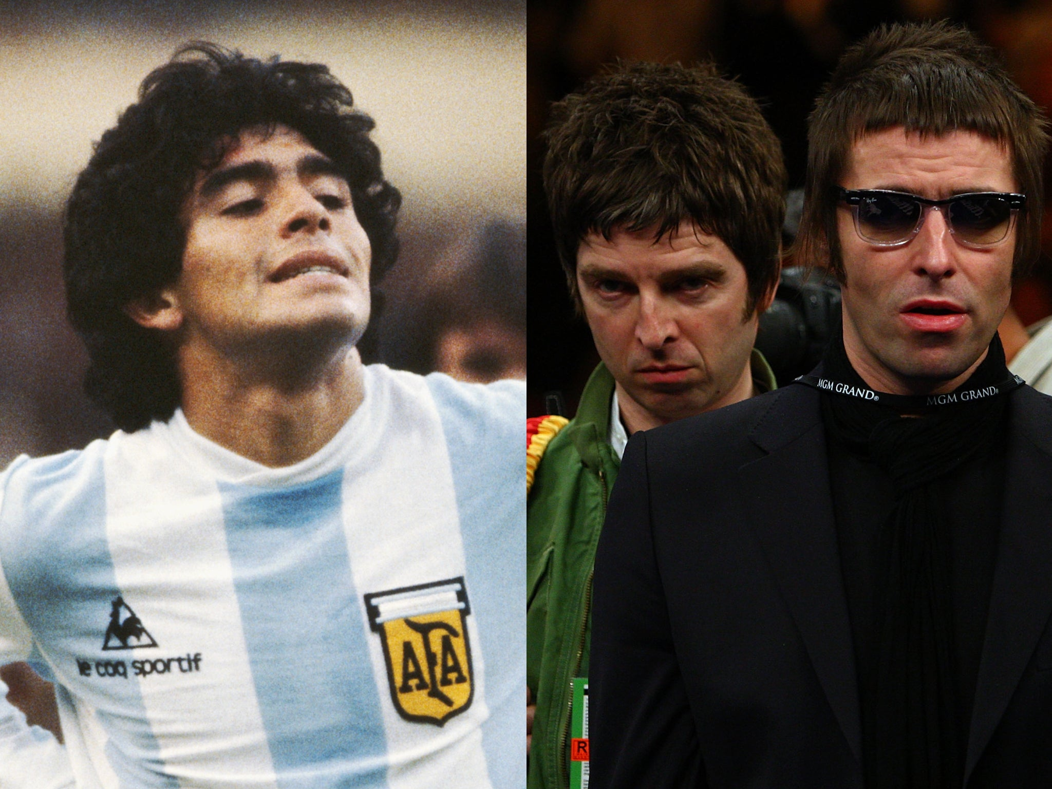 Diego Maradona once 'threatened to have Oasis shot'