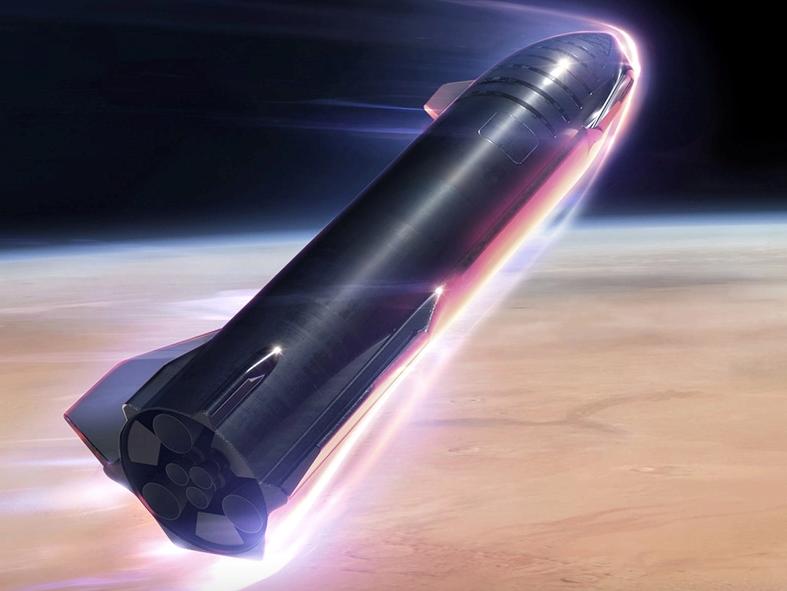 Elon Musk says Mars-bound spacecraft Starship will fly next week