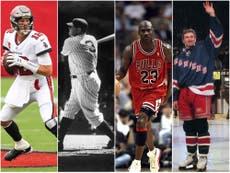 Gretzsky, Jordan, Brady, Ruth: Ranking the major-league GOATs