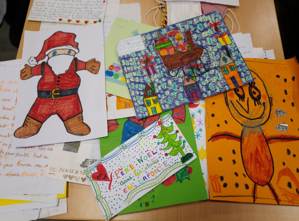 Virus Outbreak Letters to Santa