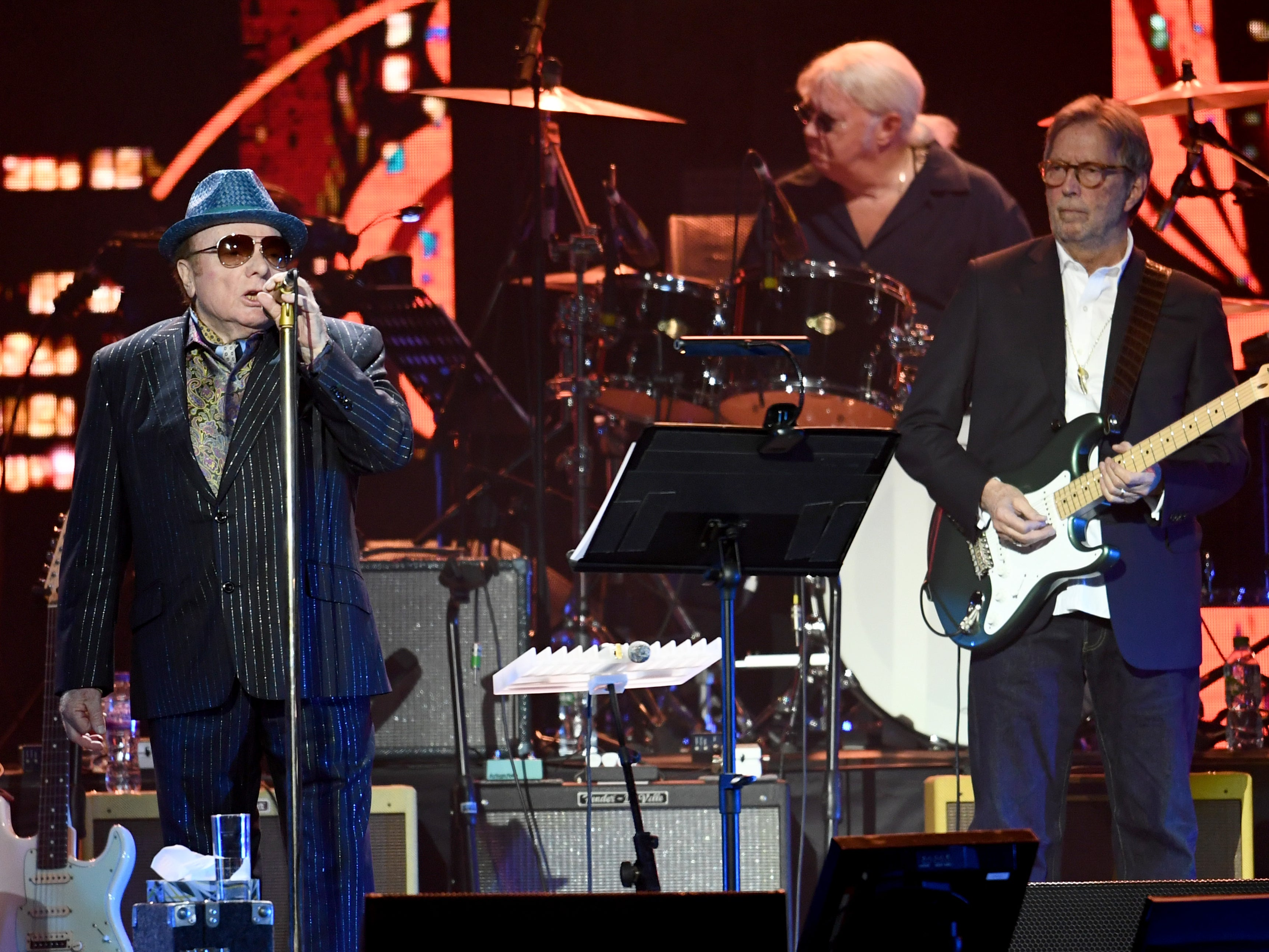 Eric Clapton and Van Morrison announce anti-lockdown single 'Stand and Deliver'