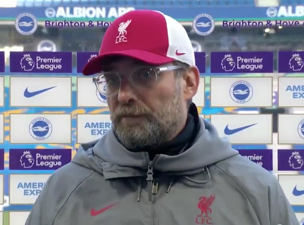 <p>Klopp is upset with the football schedle</p>