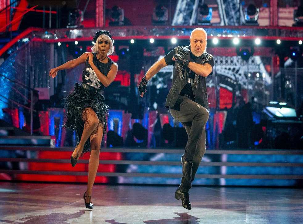 <p>Saturday night fever: Oti Mabuse and Bailey are a must-see combo</p>