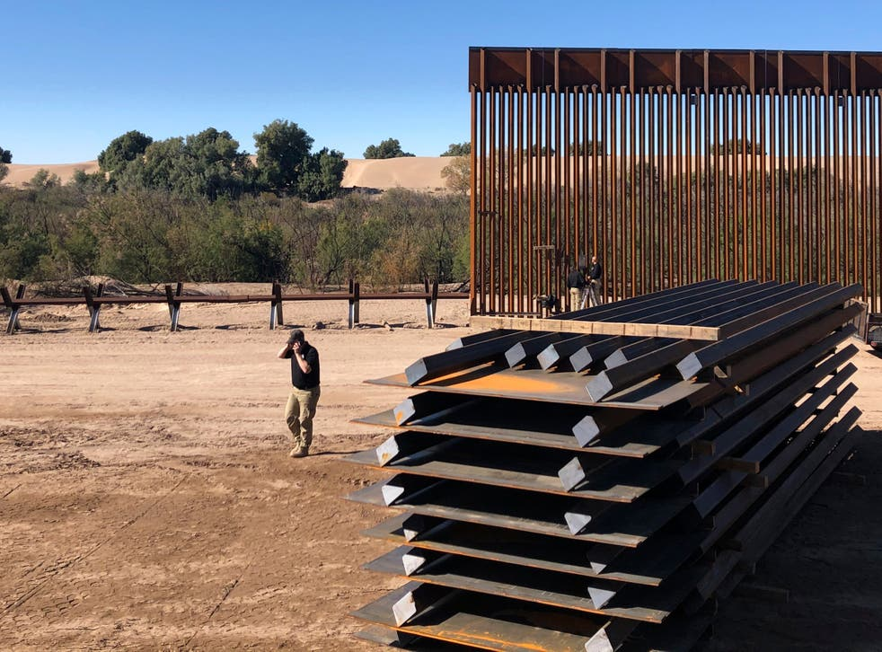 <p>Muro fronterizo</p>