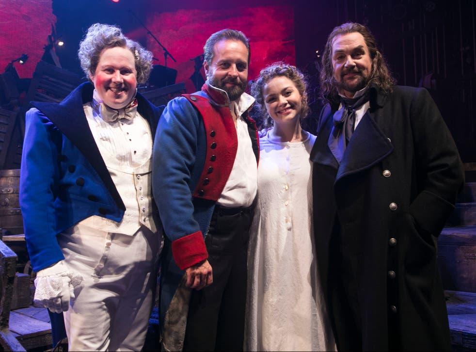 The cast of 'Les Misérables – The Staged Concert'