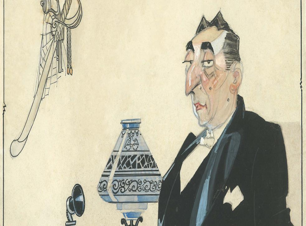 <p>Caricatura mostrando a el Gral. Hernando Limón, circa 1940</p>