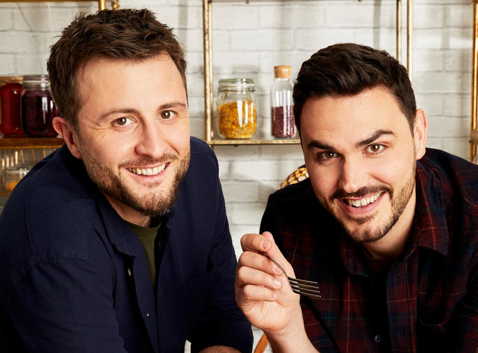 Ian Theasby (left) and Henry Firth (right) are working on a new cookbook for 2021 after publishing their latest set of plant-based recipes in Speedy BOSH!