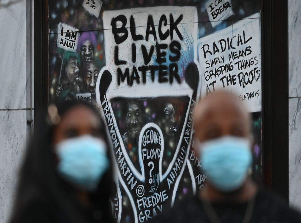 <p>Black Lives Matter protests have been widespread across the US throughout 2020</p>