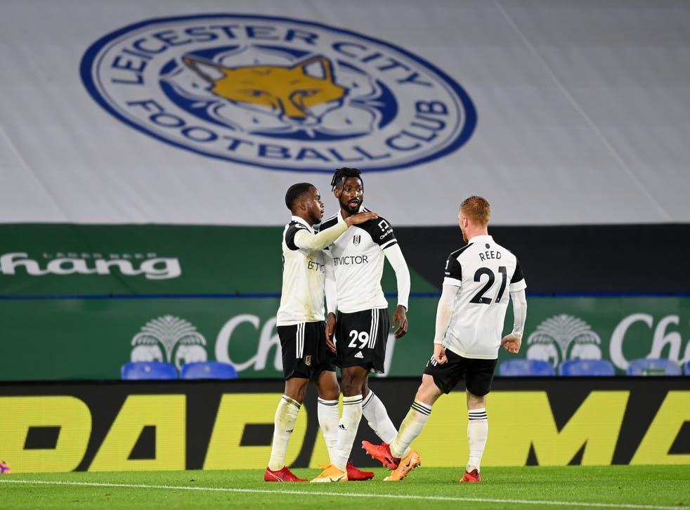 <p>El Fulham celebra el primer tanto de Ademola Lookman.</p>