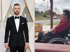 Justin Timberlake da un emotivo regalo a un adolescente con parálisis cerebral en Tennessee