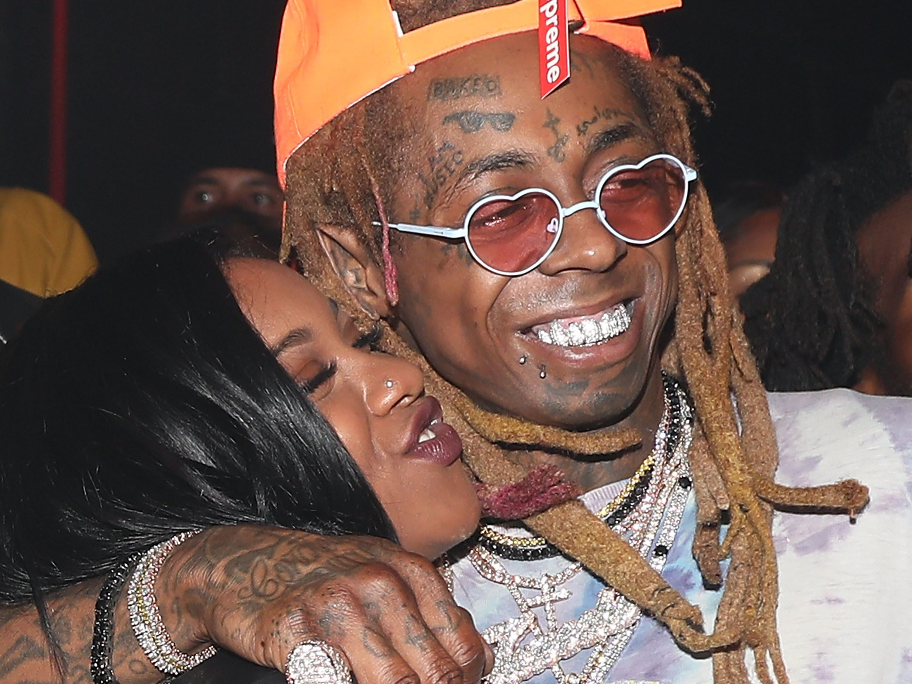 2 Chainz And Juvenile Perform At Non Socially Distanced Birthday Party For Lil Wayne S Daughter The Independent