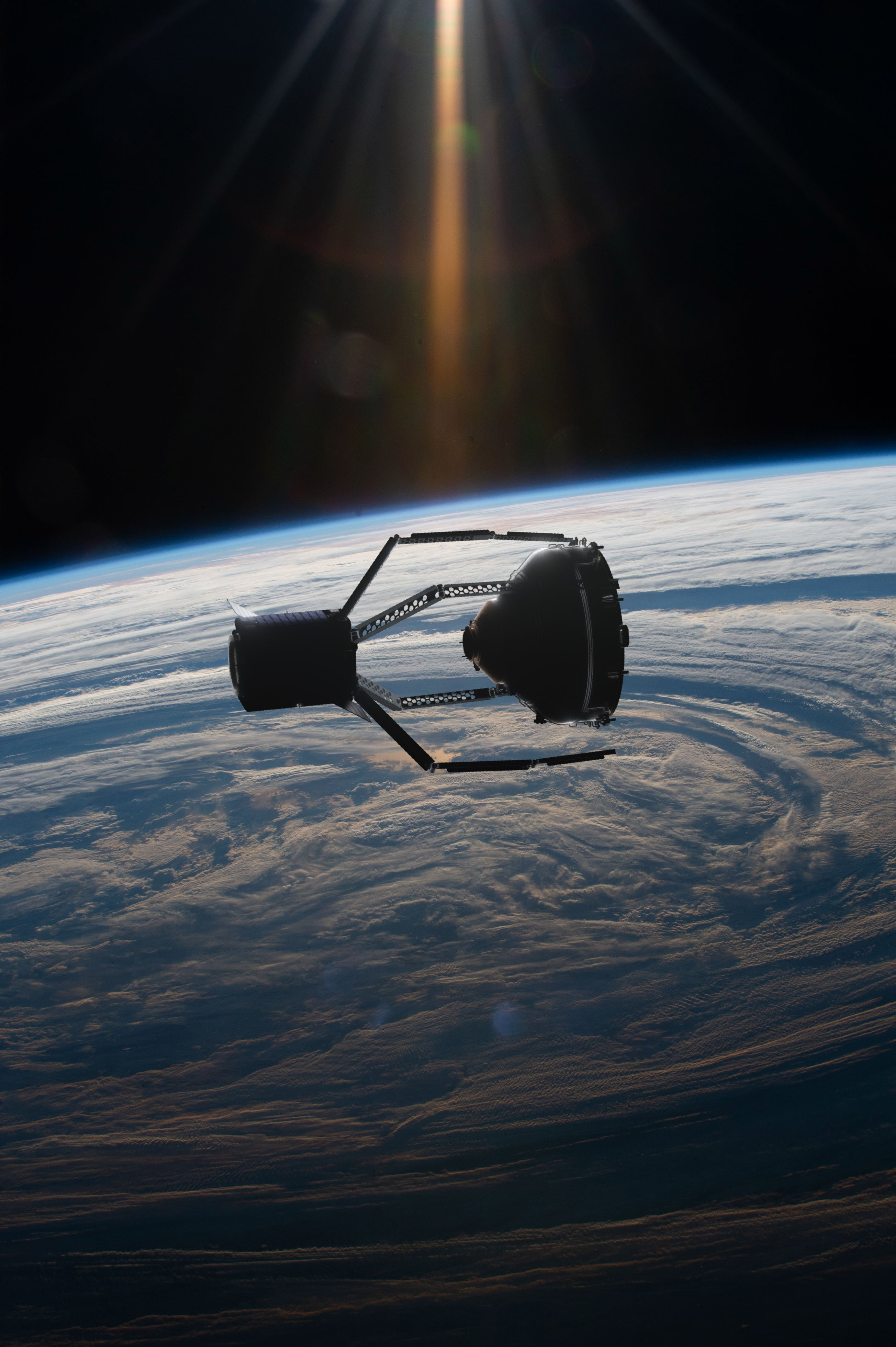 Giant claw will be sent to space to collect debris from past missions - The Independent