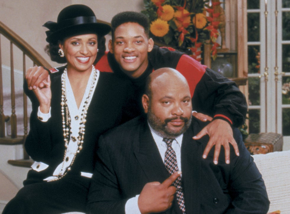 pDaphne Reid, Will Smith and James Avery in 'The Fresh Prince'/p