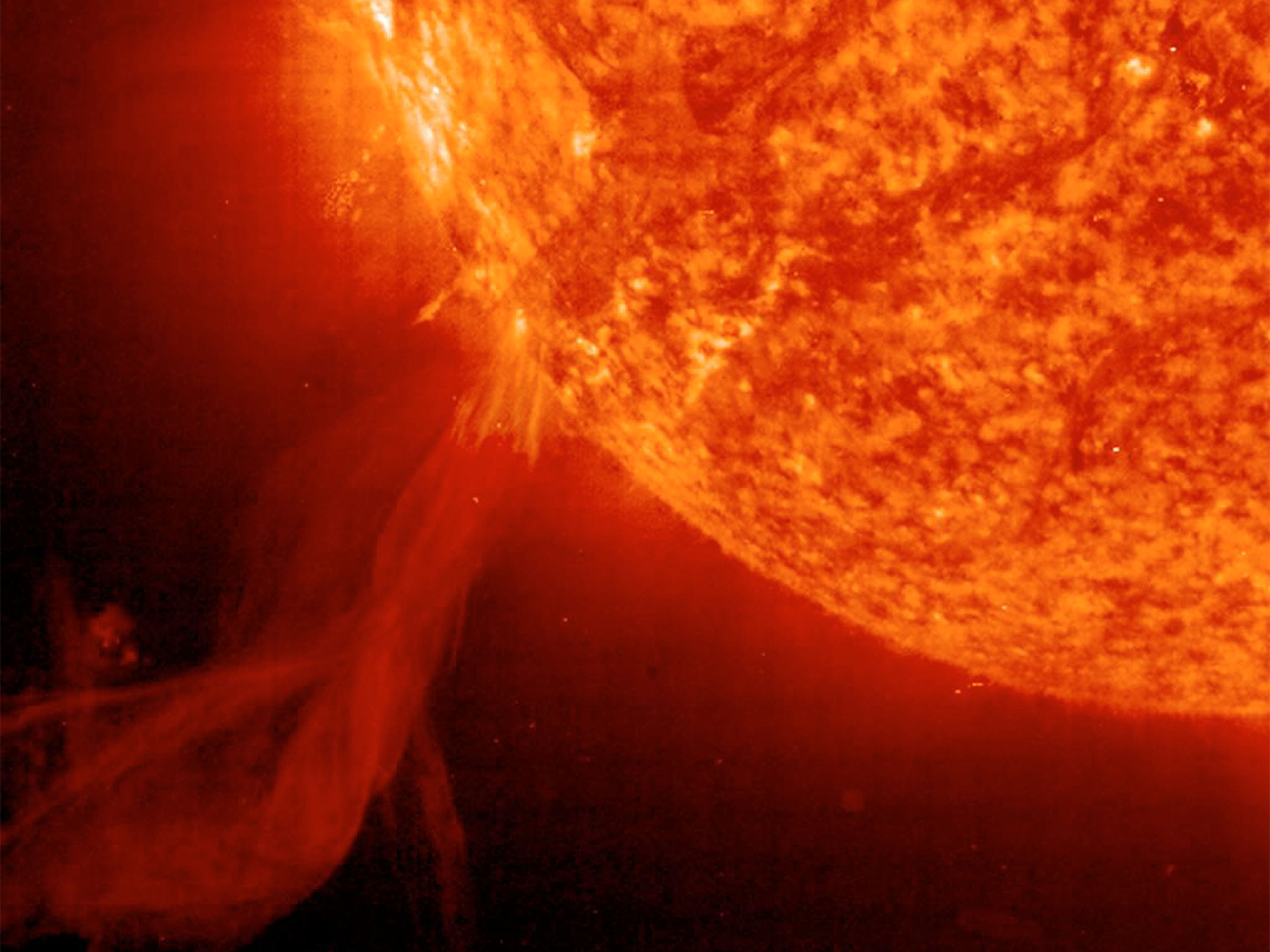 Image of article 'The Sun emitted its biggest solar flare in years'