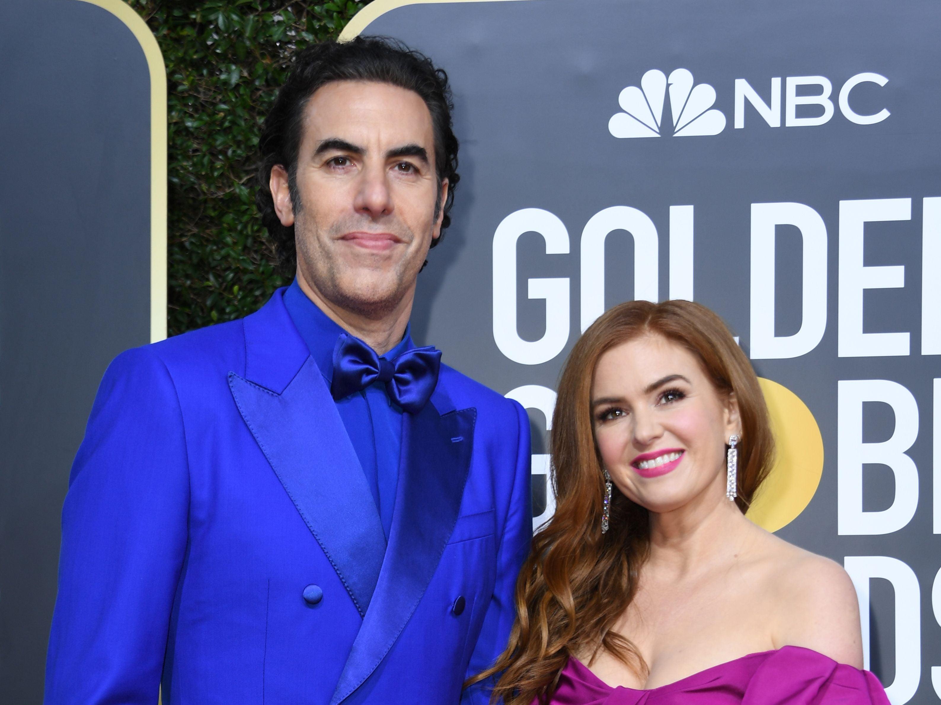 Isla Fisher says she refuses to hear Sacha Baron Cohen's Borat schemes before filming