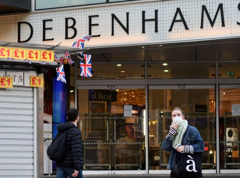 <p>Debenhams stores are to close putting 12,000 jobs at risk</p>