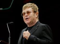 Elton John exige al gobierno británico renegociar el acuerdo del Brexit para los músicos
