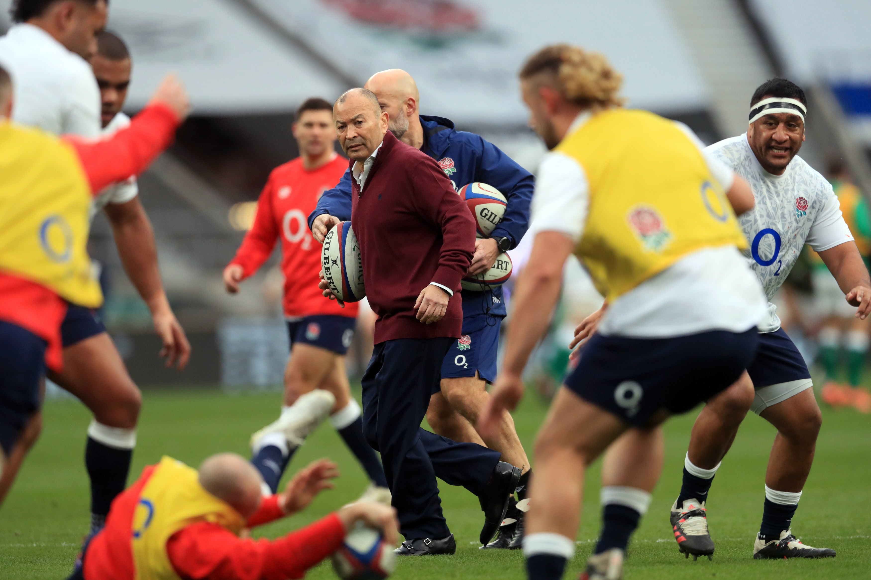 Eddie Jones lays out three-point plan to make rugby more attractive
