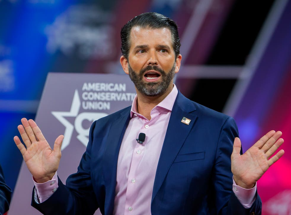 <p>Donald Trump Jr is expected to be a popular draw</p>