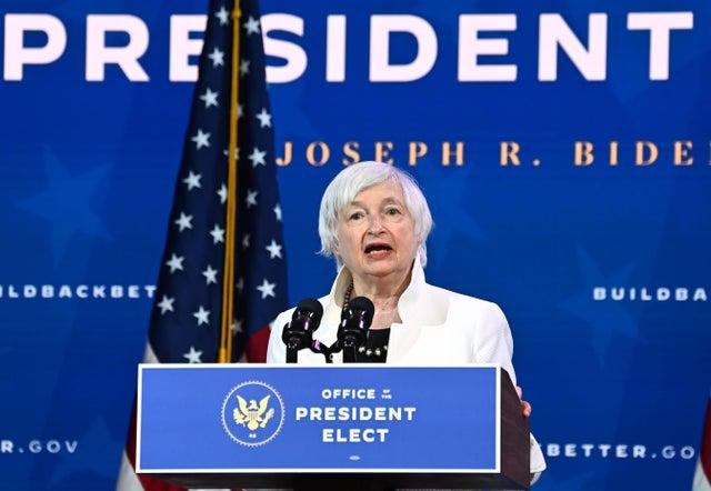 <p>Janet Yellen</p>