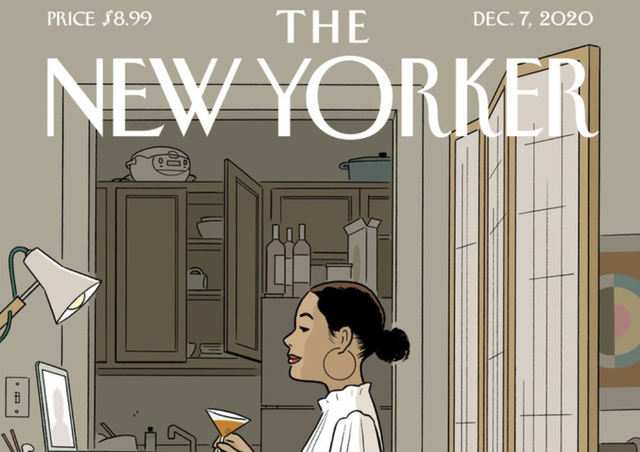 New Yorker cover goes viral for being relatable