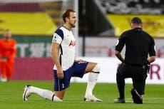 Harry Kane insta a los futbolistas a seguir luchando contra el racismo