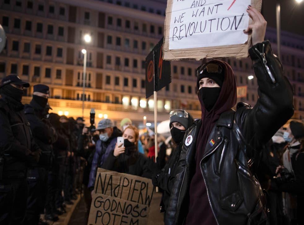 Poland Women's Revolt