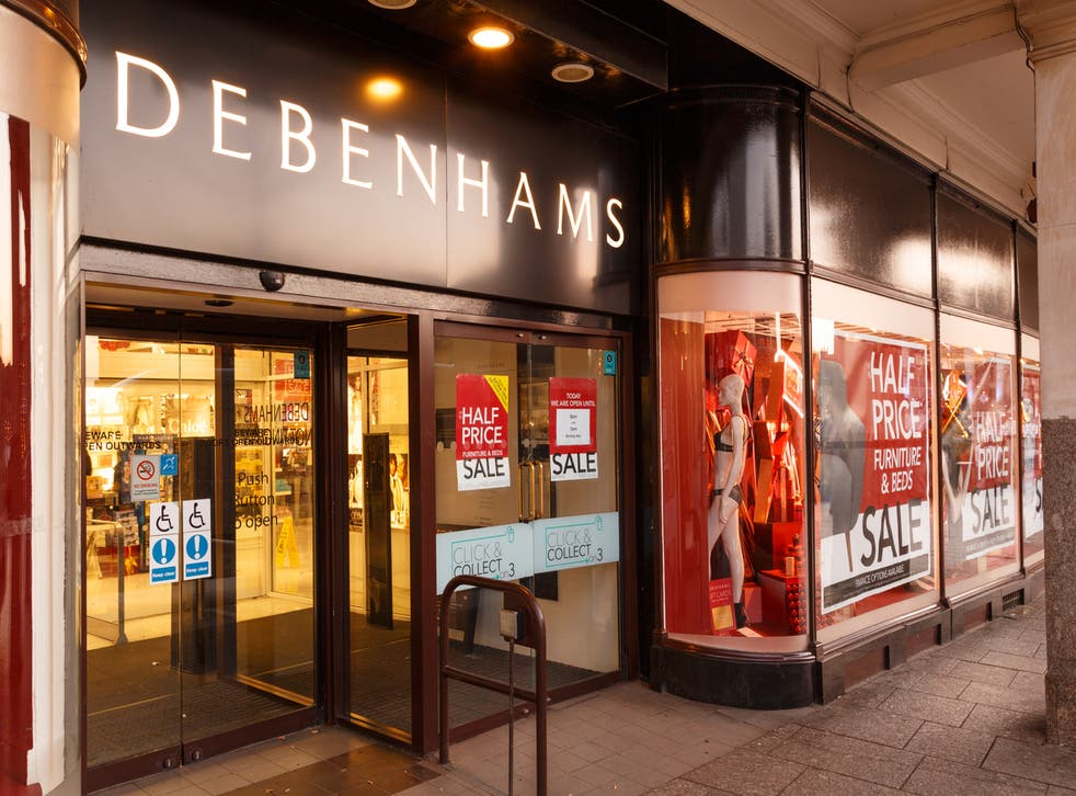 pDebenhams brand has been bought by BooHoo but the stores look doomed/p