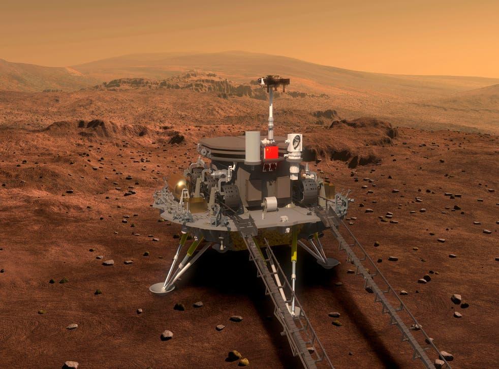 <p>Ambiciones espaciales de China</p>