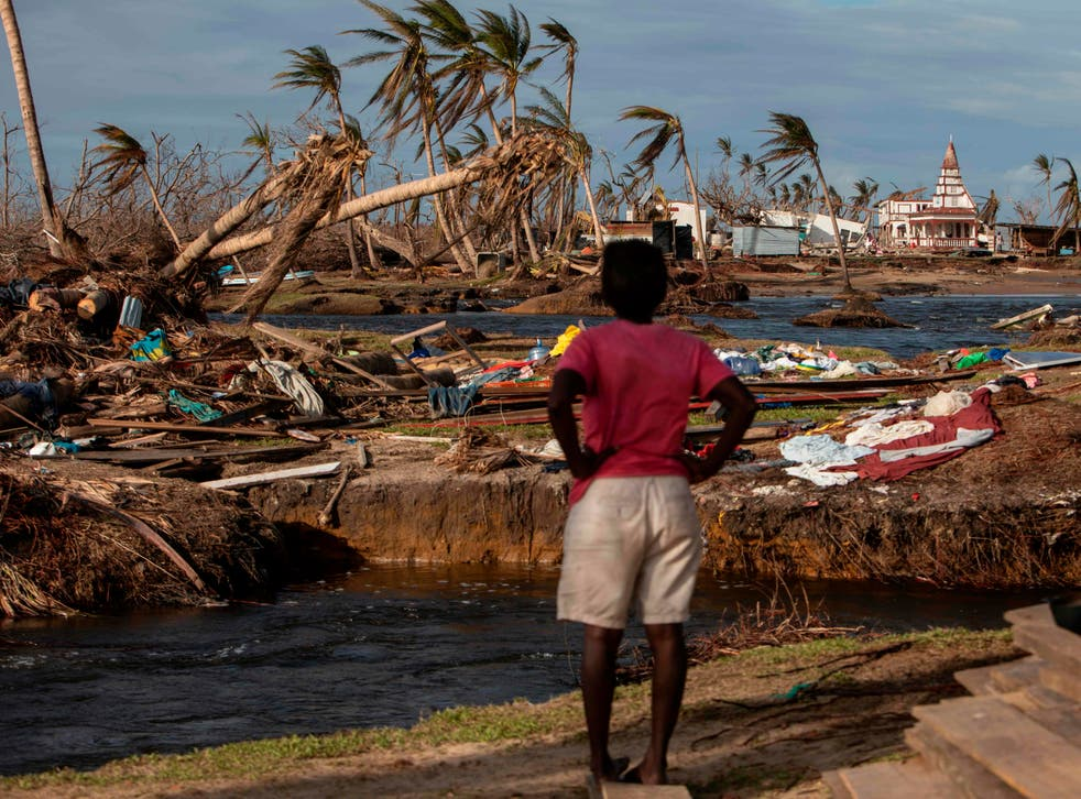 <p>The aftermath: damage wrought by Hurricanes Eta and Iota in Nicaragua in November last year</p>