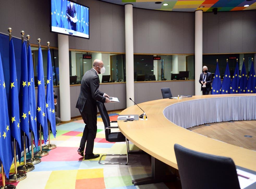 Belgium EU Summit Preparation