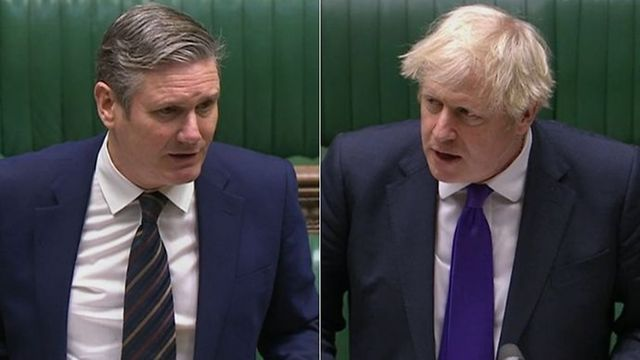 Keir Starmer just grilled Boris Johnson so well he resorted to using his most childish nickname yet