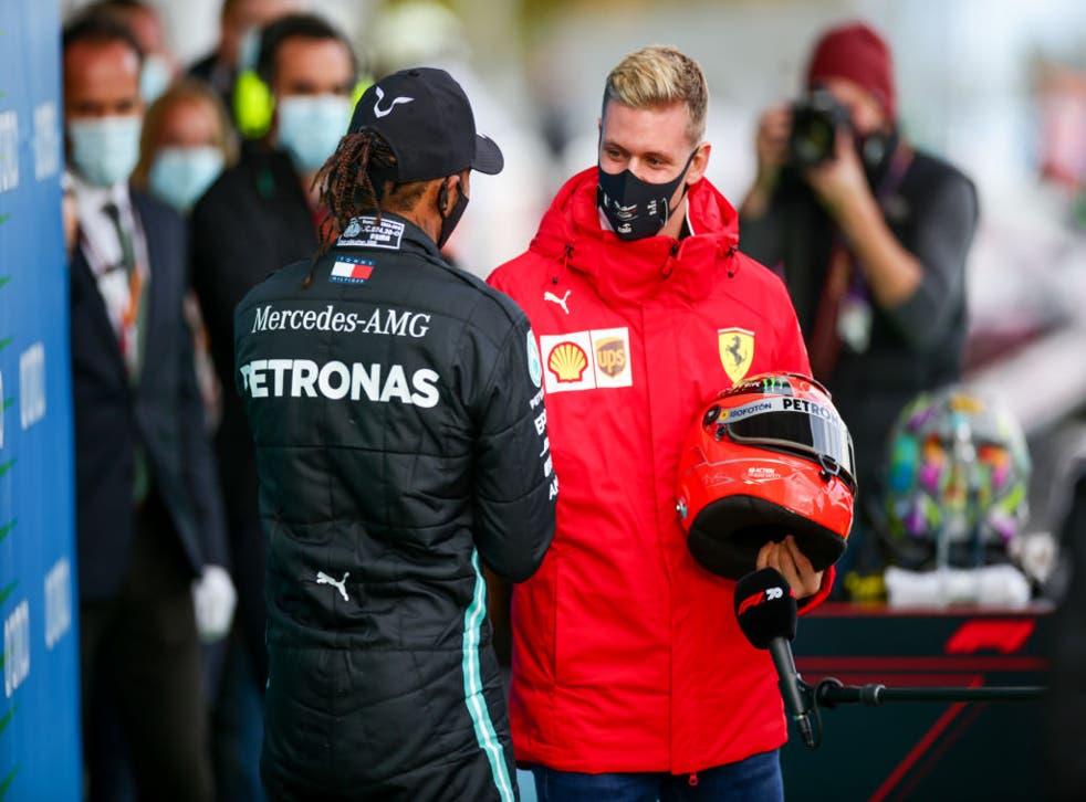 <p>Schumacher forma parte del equipo de desarrollo de Ferrari</p>
