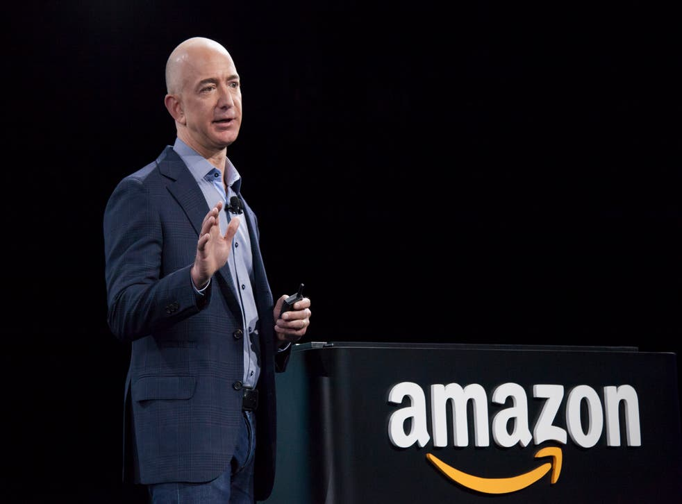 <p>Amazon chief executive Jeff Bezos has been urged to pay the company's workers better and protect the environment</p>
