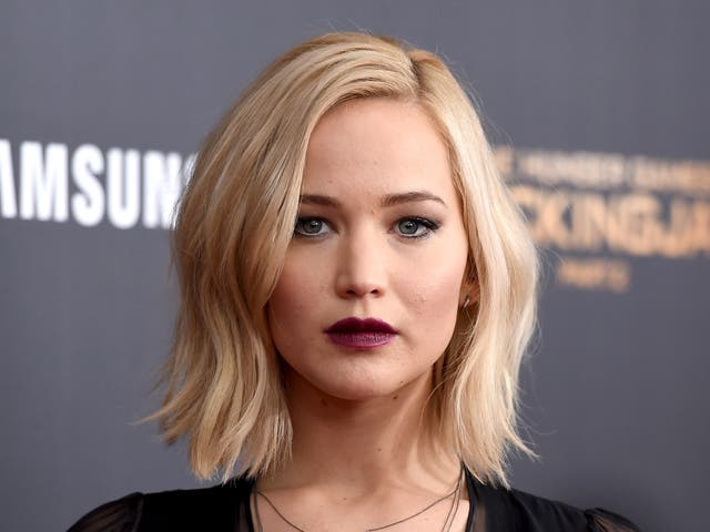 """<p>Jennifer Lawrence attends """"The Hunger Games: Mockingjay - Part 2"""" New York Premiere at AMC Loews Lincoln Square 13 theatre on 18 November, 2015 in New York City</p>"""