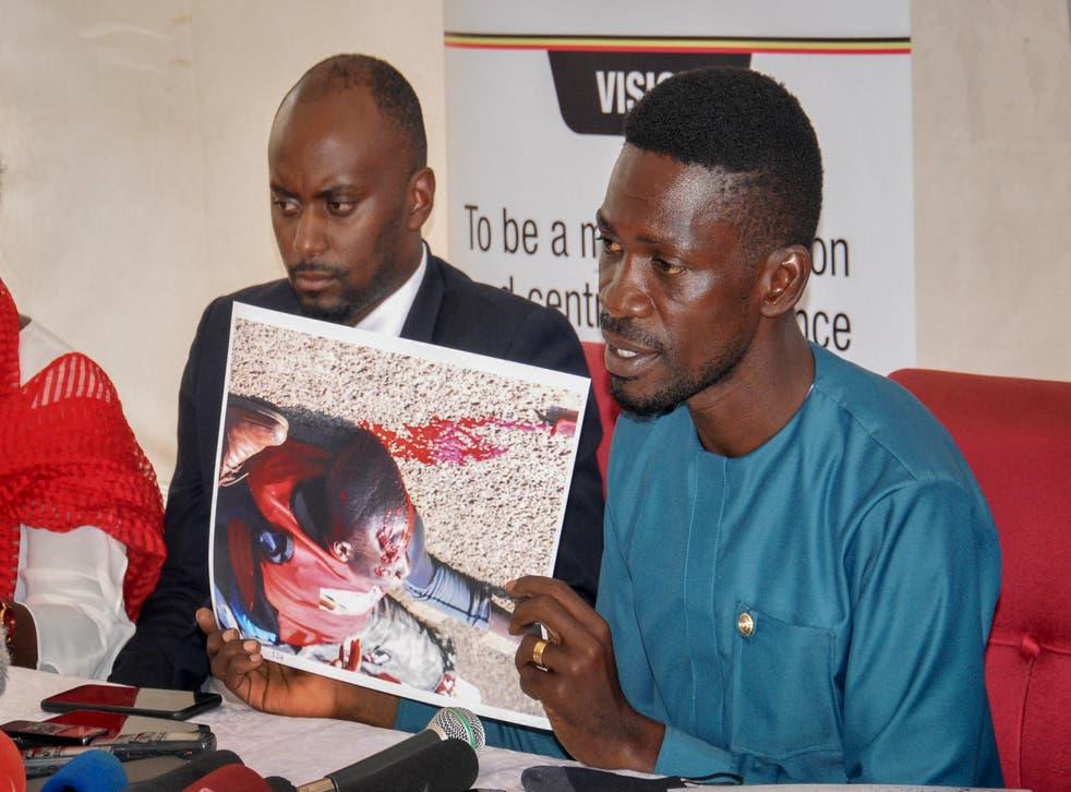 Uganda Opposition Leader