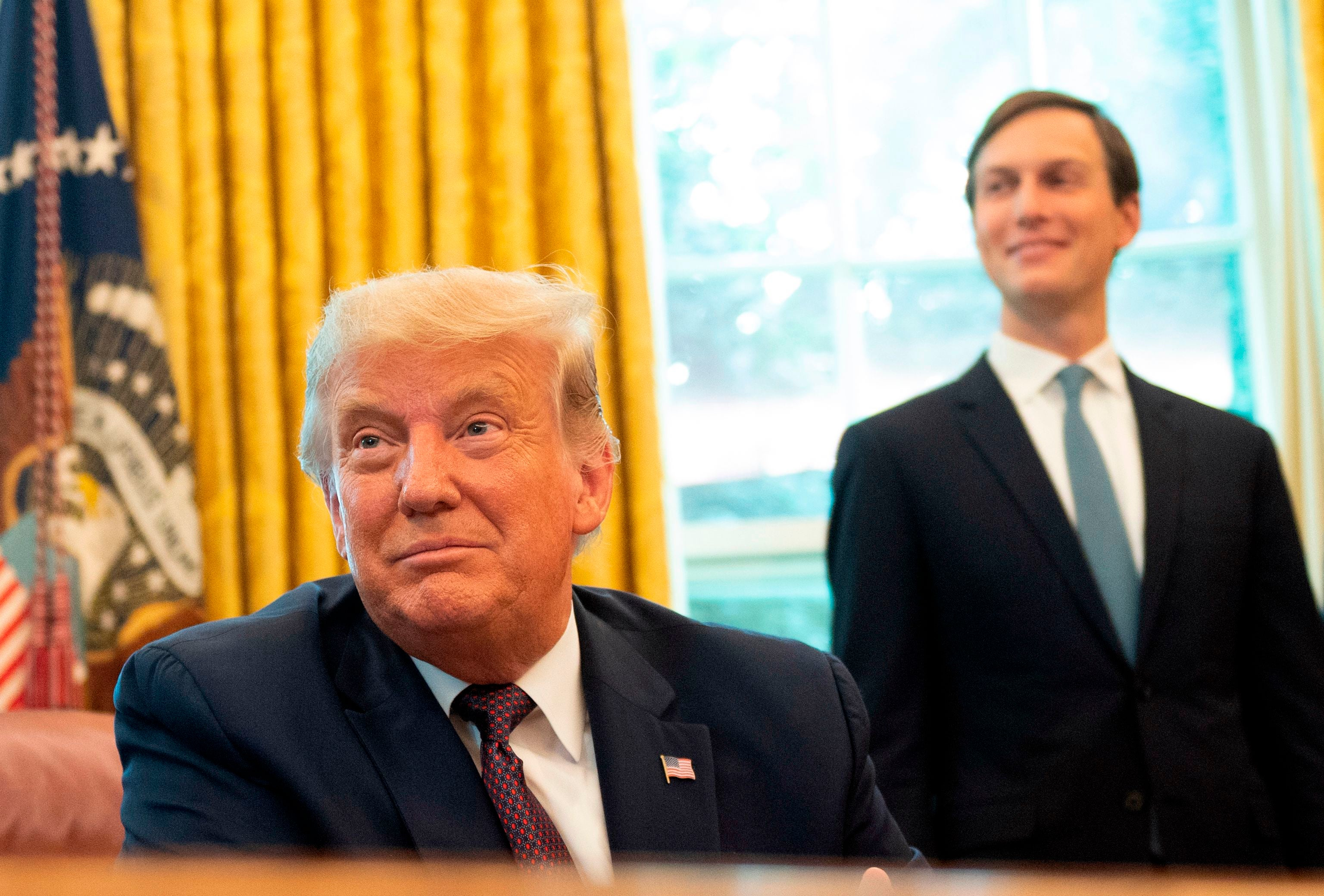 Donald Trump and Jared Kushner receive $3.65m in PPP loan money, report says