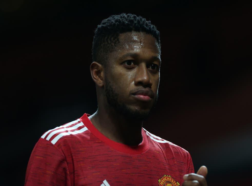 Fred, el centrocampista del Manchester United