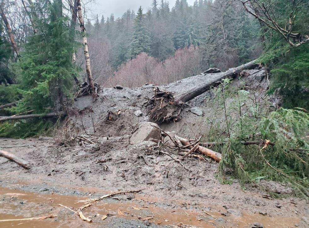 Alaska Landslides