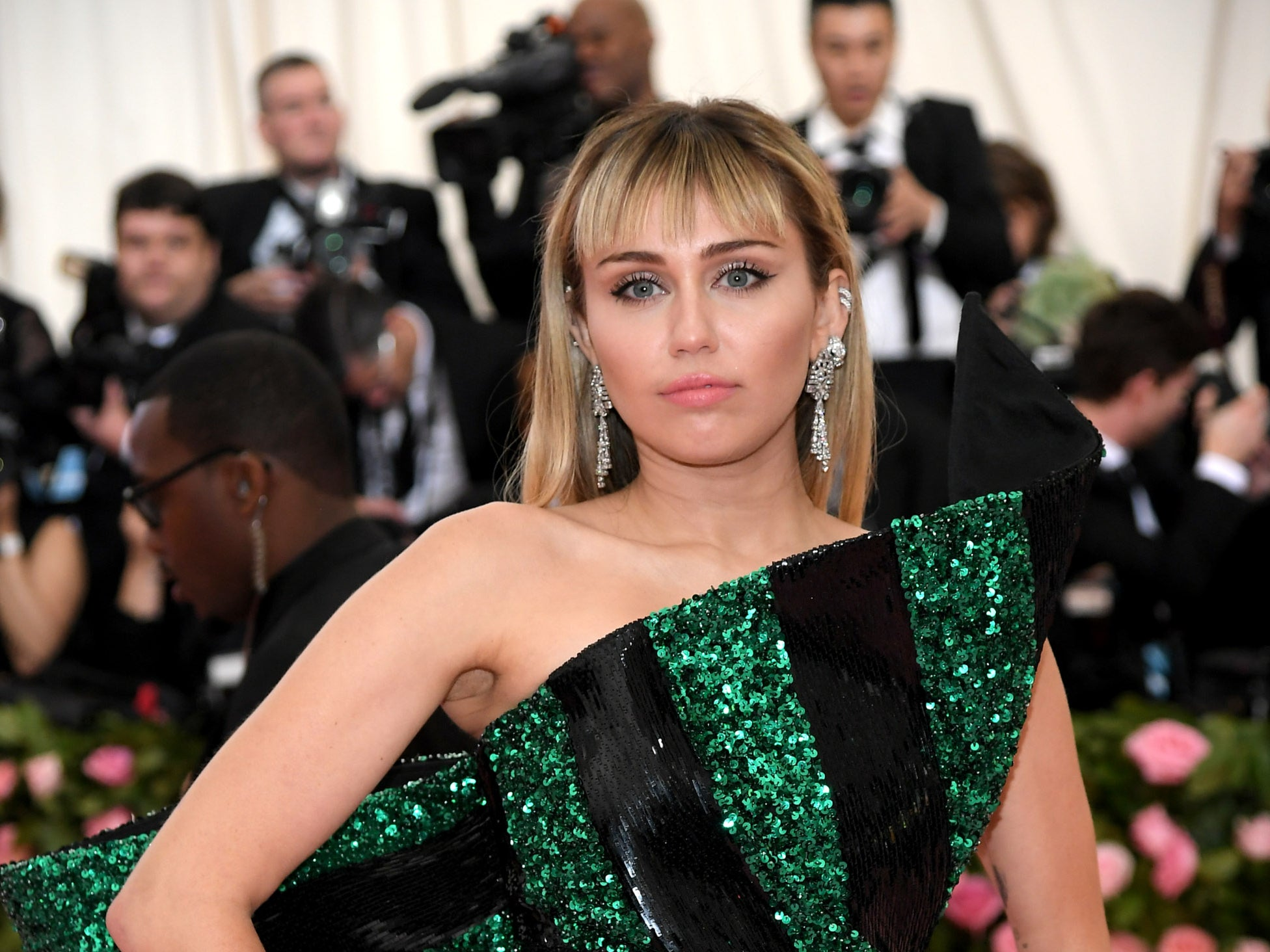 Miley Cyrus says she 'luckily didn't go back to drugs' after breaking sobriety during lockdown