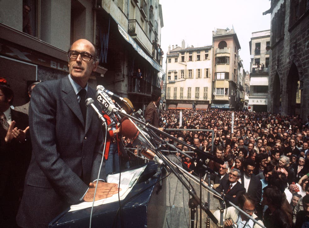 On the presidential campaign trail in 1974