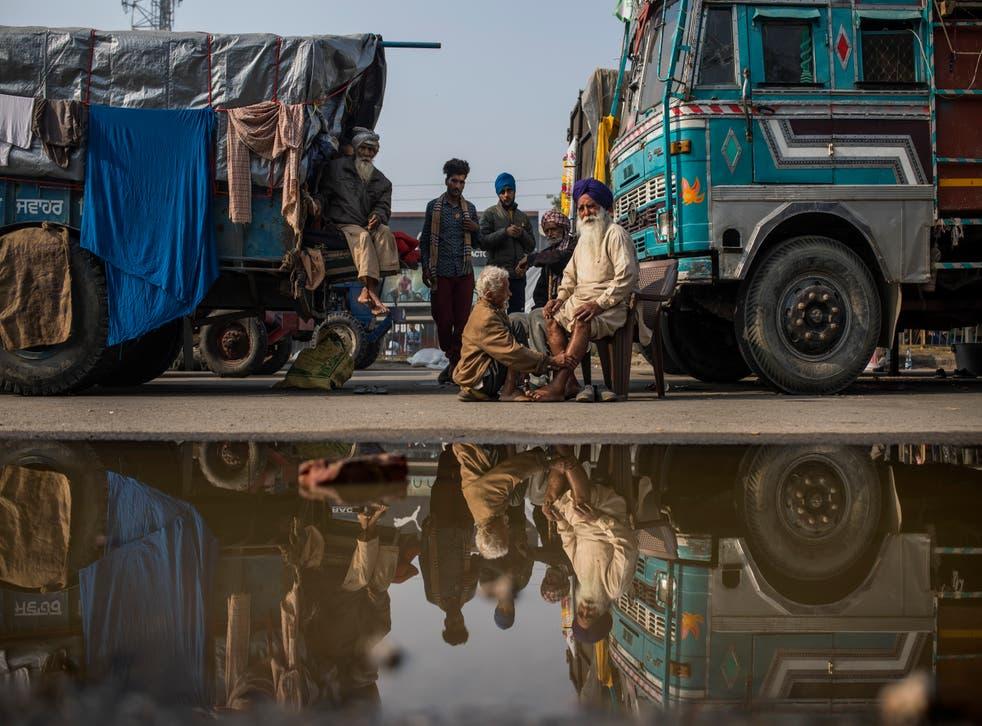 APTOPIX India Farmer Protests Photo Gallery