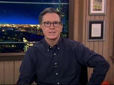 """Stephen Colbert compara a Donald Trump con el herpes: """"Puede que nunca desaparezca por completo"""""""