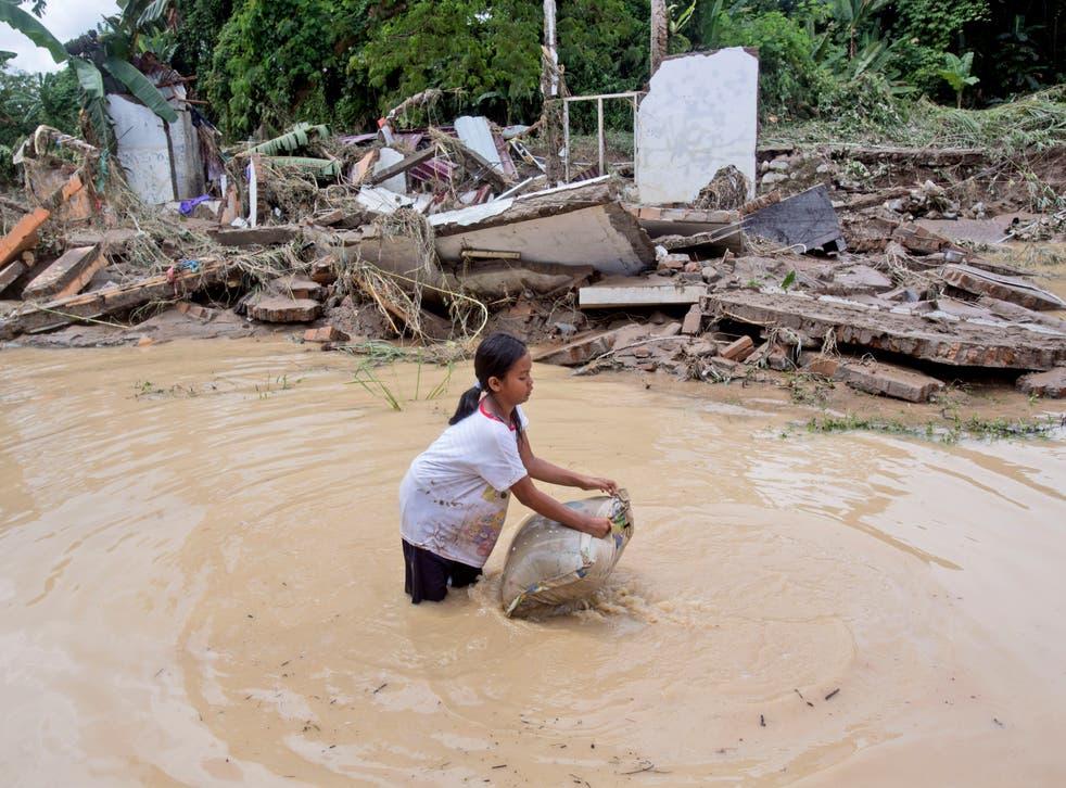 APTOPIX Indonesia Floods