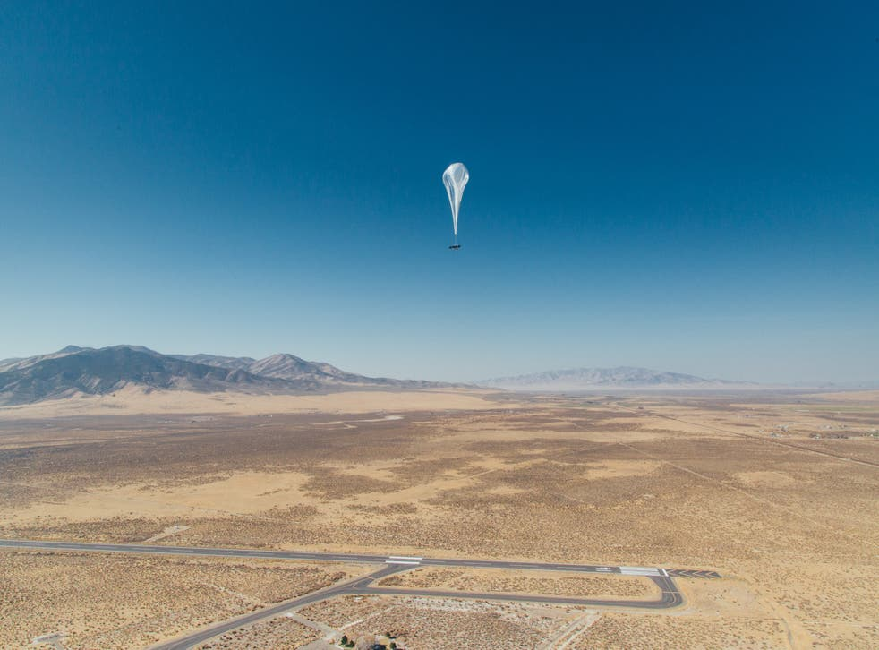 Experts use AI to make Google's high-altitude internet balloons hover in place